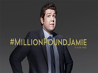 #millionpoundjamie recruitment campaign
