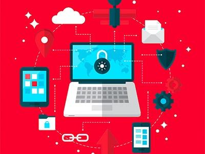 computer security online tablet desktop