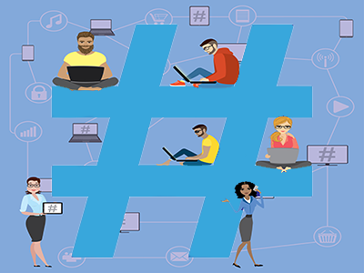 How to Amplify Your Recruitment Content with Hashtags