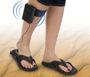 Metal detector sandals are a terrible gift for clients