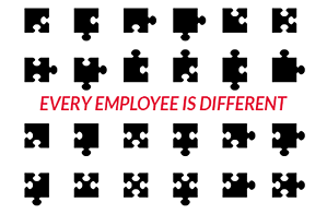 treat employees differently