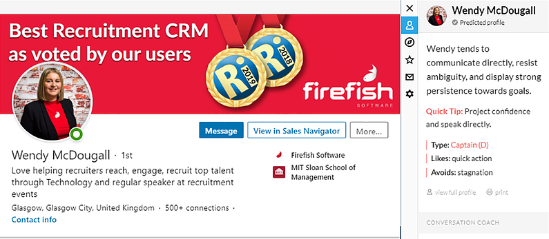 best recruitment email tools crystal