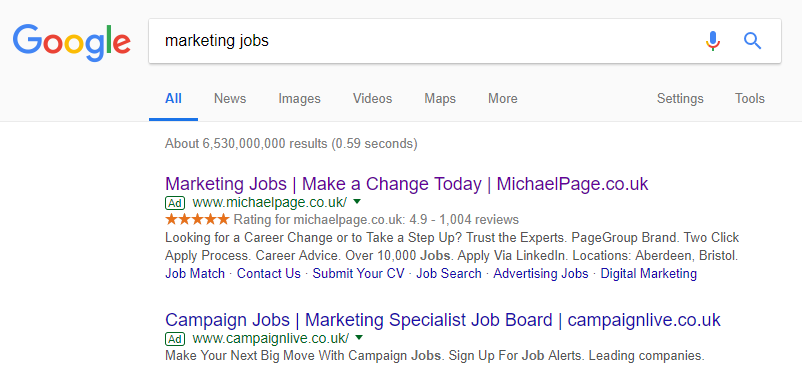 marketing jobs -1