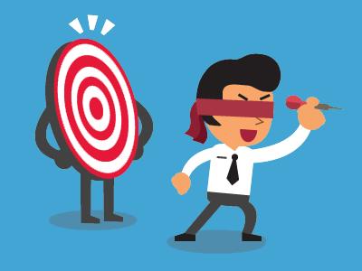 man missing business targets