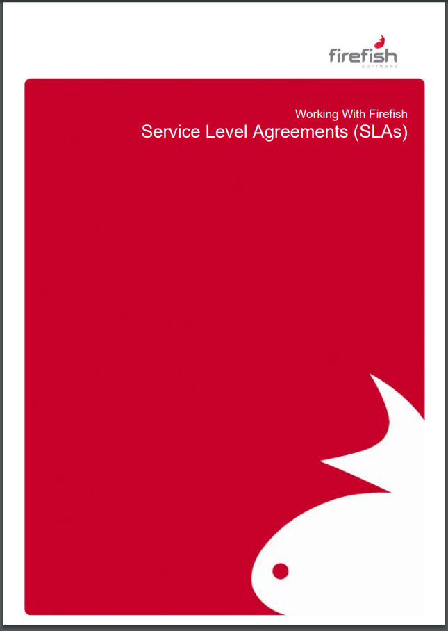 Working with Firefish - Service Level Agreements (SLAs)